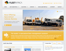 Tablet Preview of fleetafrica.co.za